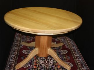Solid-wood-round-maple-Student-table