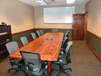 13 Feet Long Sapele Conference Table Potlatch Corporation