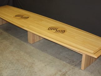 Custom 20 FT. solid maple wood conference table
