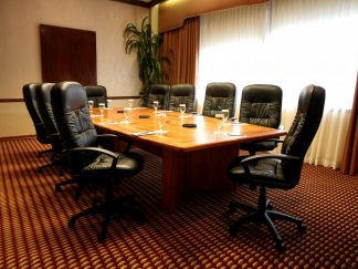 African mahogany conference room table