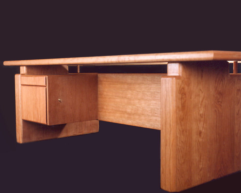 Pleasant Cherry Executive Desk Solid Wood Tables Home Interior And Landscaping Spoatsignezvosmurscom
