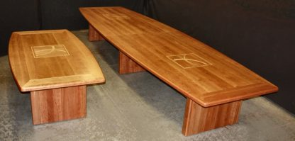 Custom solid Cherry Wood Boardroom Tables