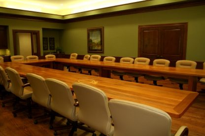 Convention Center conference table