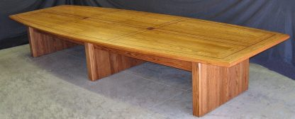 Red oak congregation conference table