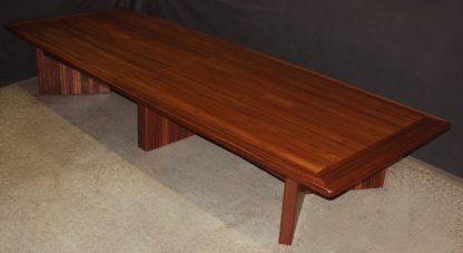solid Sapele wood conference table