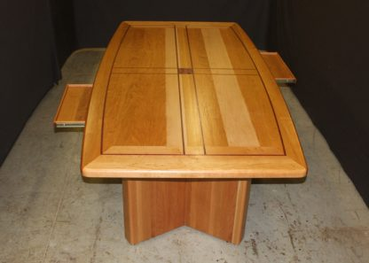 Solid Cherry Wood Conference Table and Executive Desk
