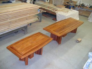 African mahogany Executive boardroom conference tables