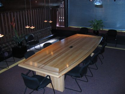 solid maple wood conference table