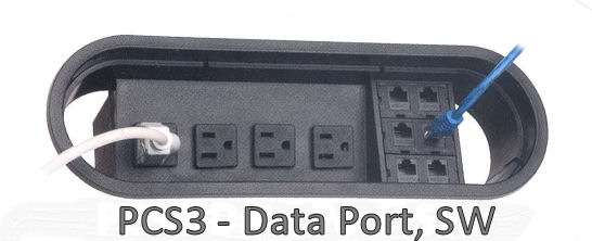 Conference Table PCS3- Data Port SW