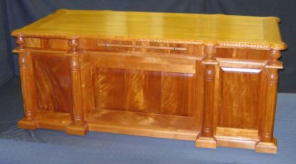 Hand Carved Executive Desk by Specialty Woods