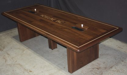 Black Walnut Conference Table by Specialty Woods
